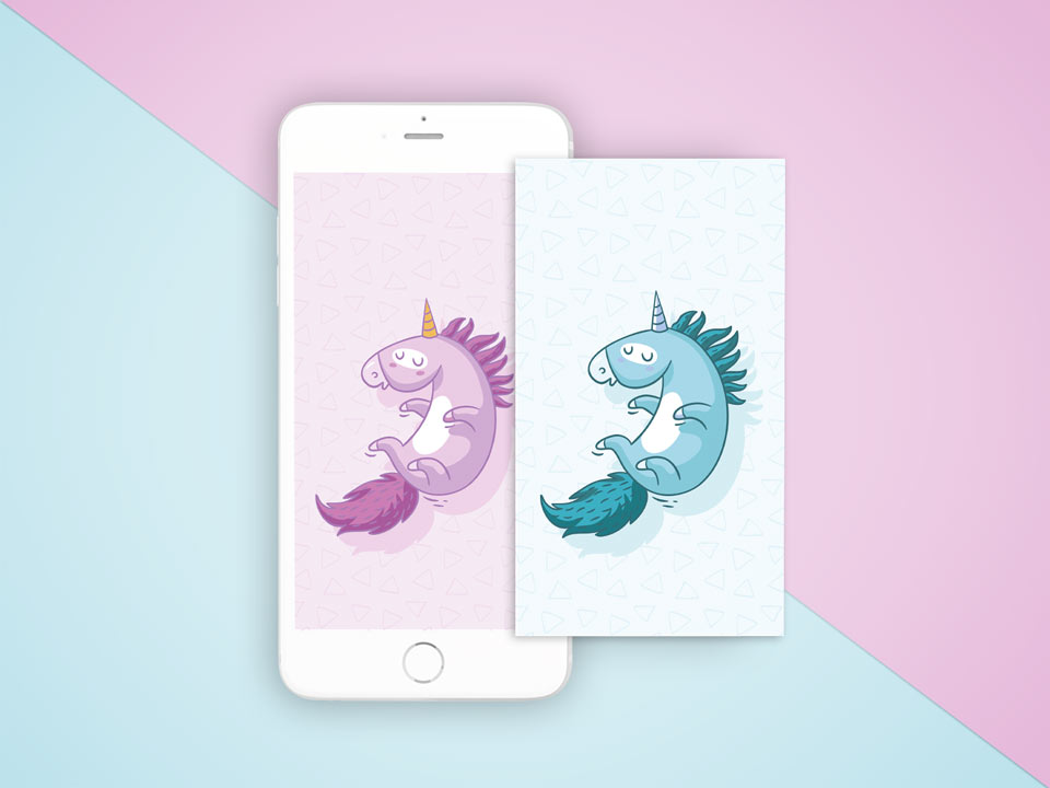 IPhone-wallpaper-unicorn