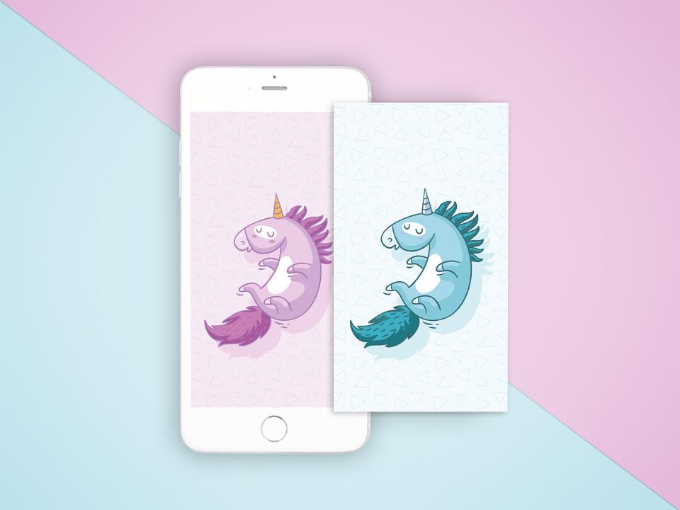 IPhone-wallpaper-unicorn