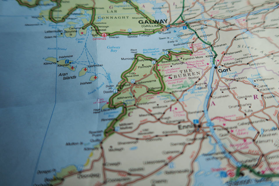 map ireland real one